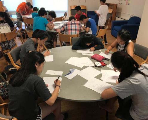 summer math camp team contest
